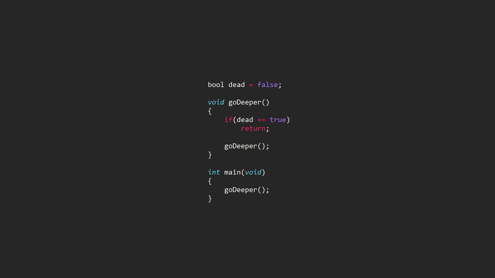 Inception-code-programming